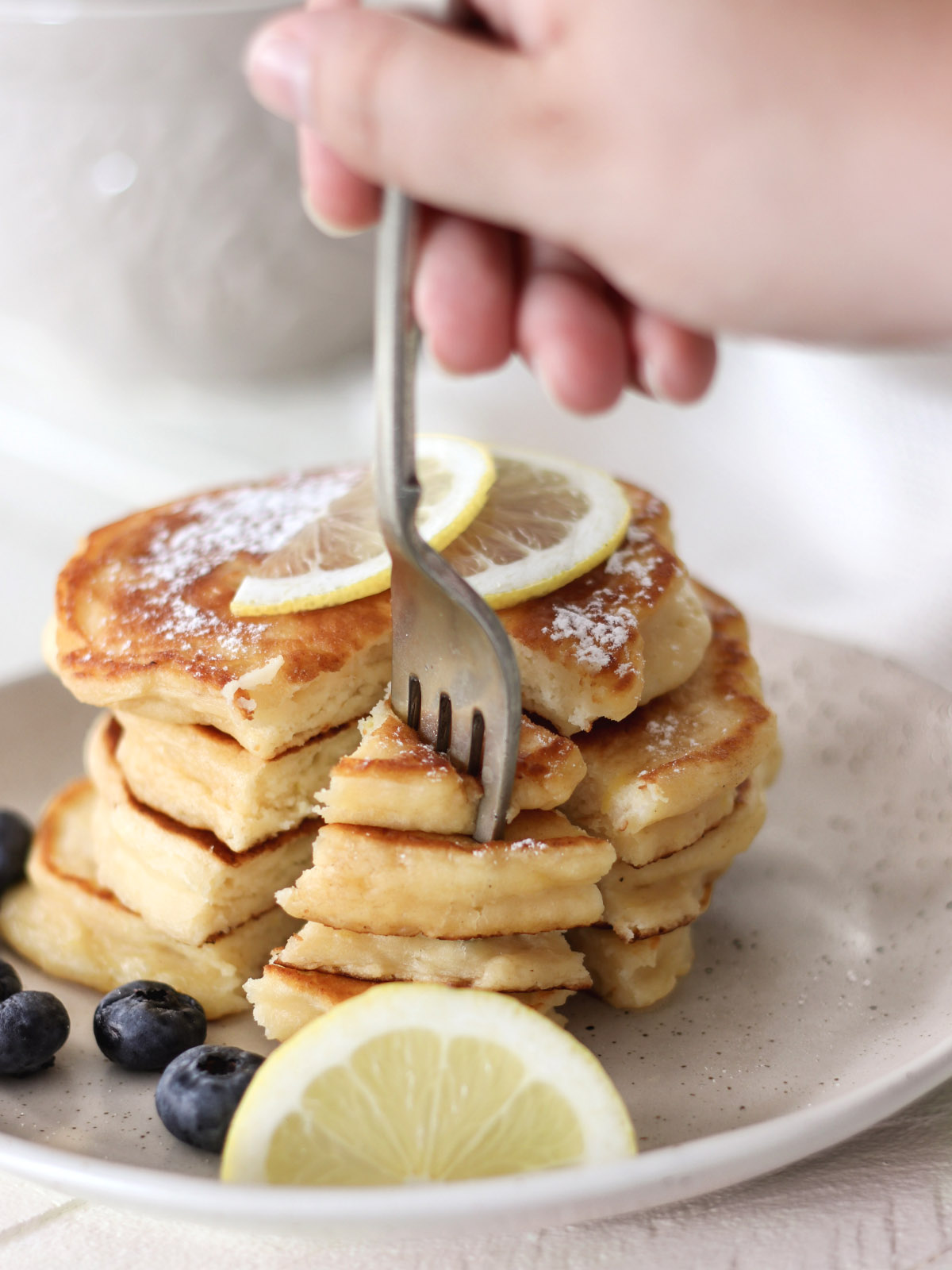 How to Make Ricotta Pancakes