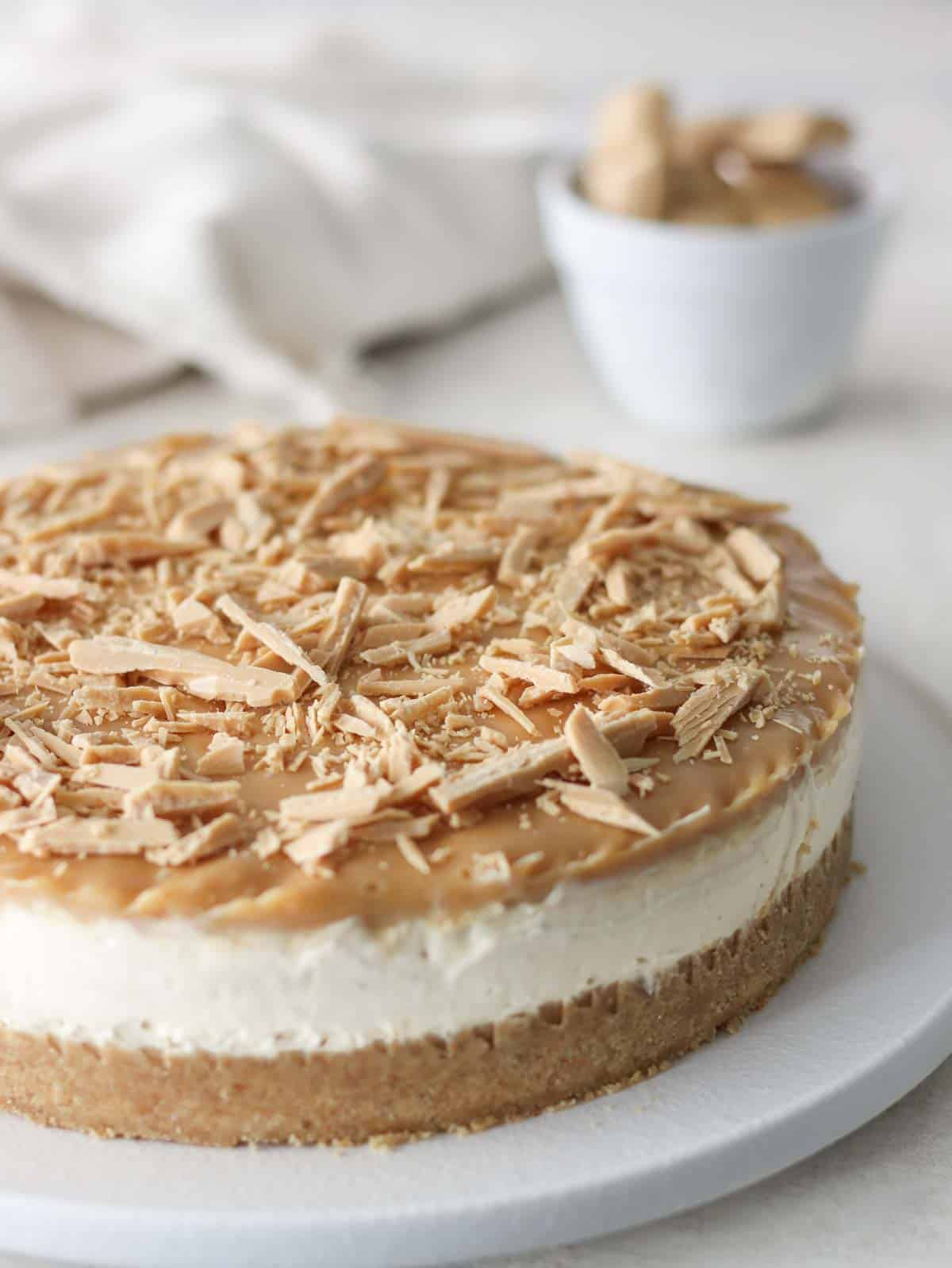 How to Make Caramilk Cheesecake