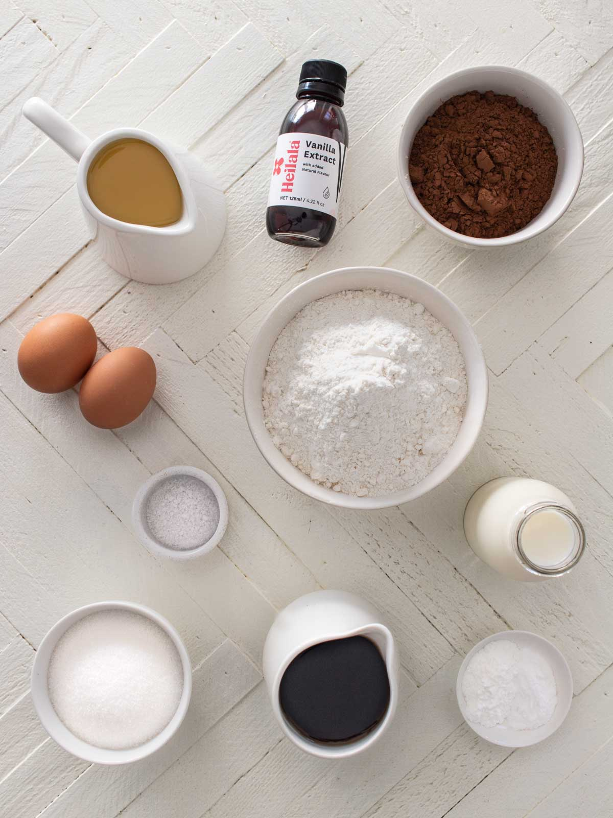 Ultimate Chocolate Cake Ingredients
