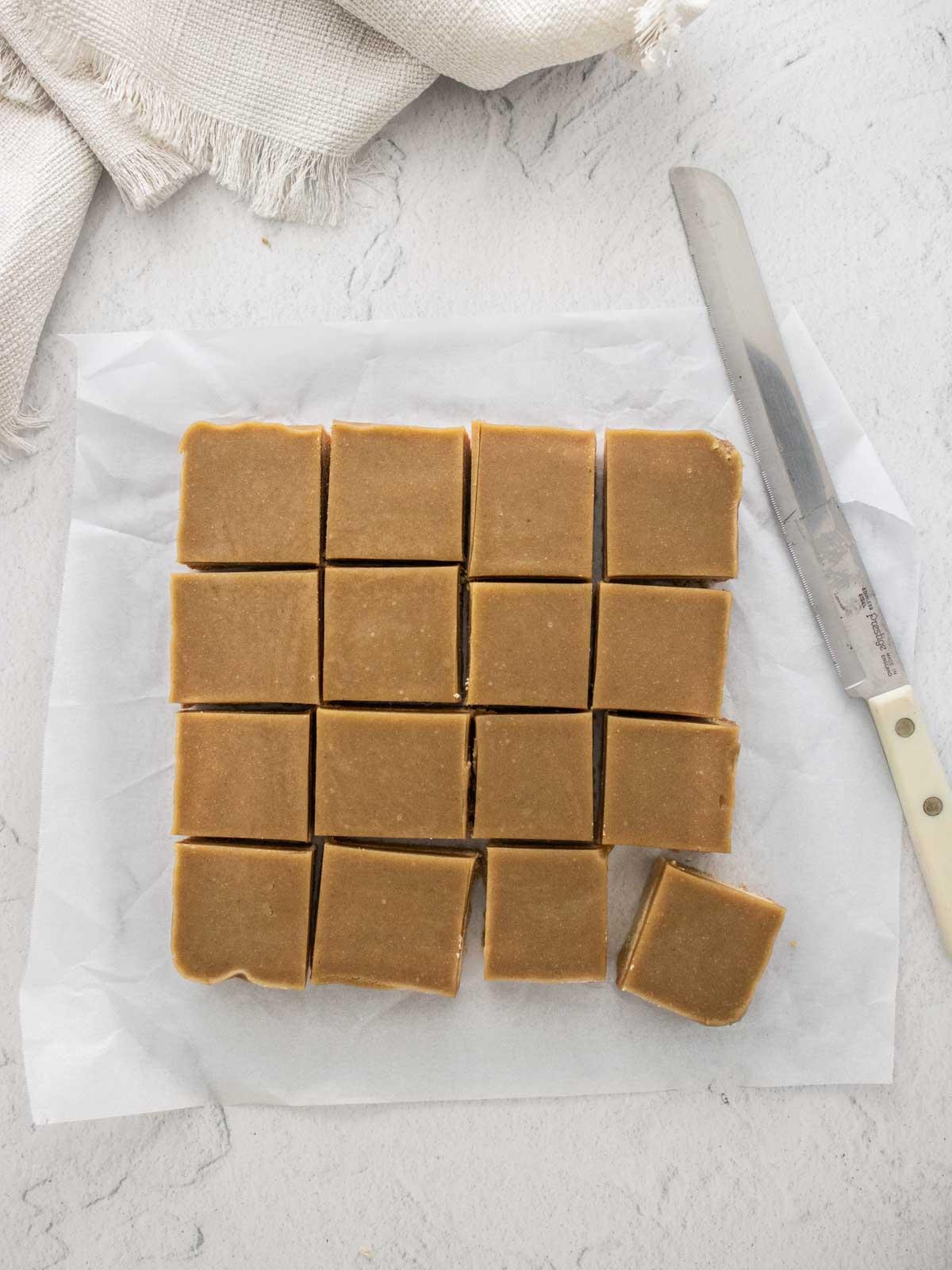 Sliced ginger crunch