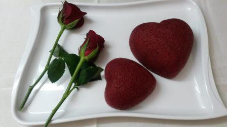 Heart Beet Cake – Semolina cake