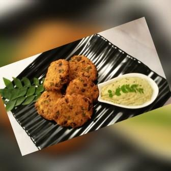 South Indian Wada – Aama Vadai – Spiced Tamil Fry