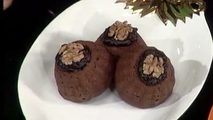 Steamed Chocolate Cup Cake