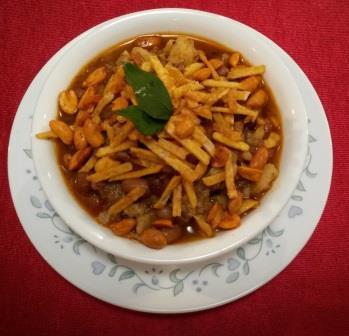 Sweet Potato Misal for Fasting