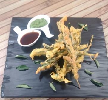 Limda na Bhajiya-Neem Frittes