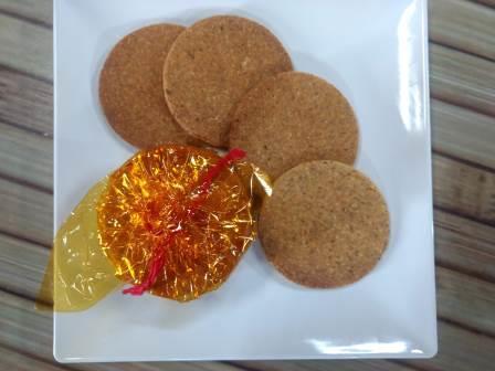 Badam Puri / Almond Puri