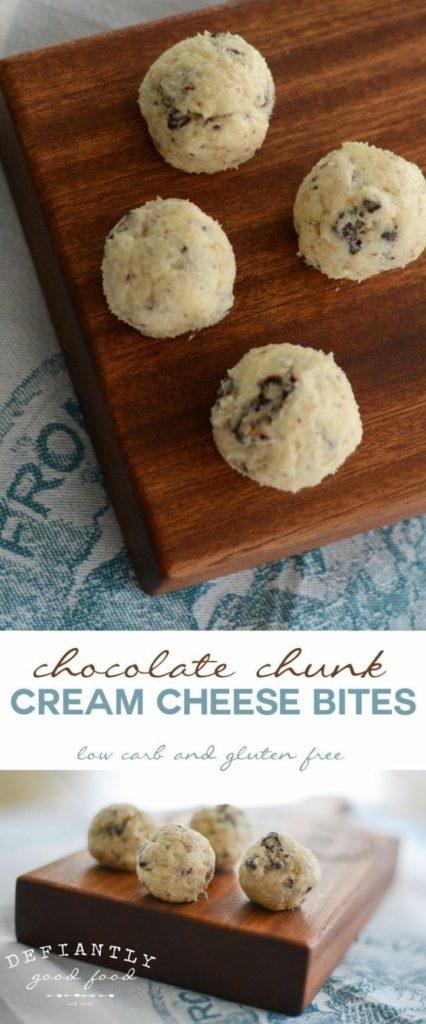 Chocolate Chunk Cream Cheese Bites