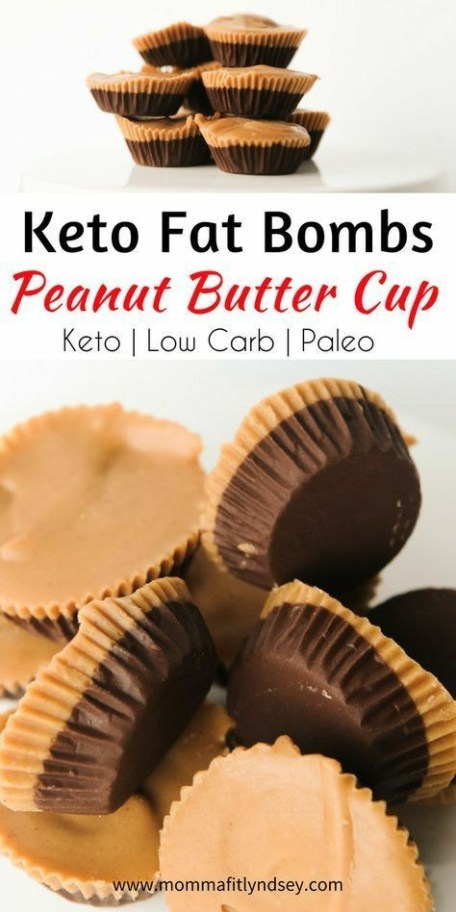 Peanut Butter Cup Fat Bombs