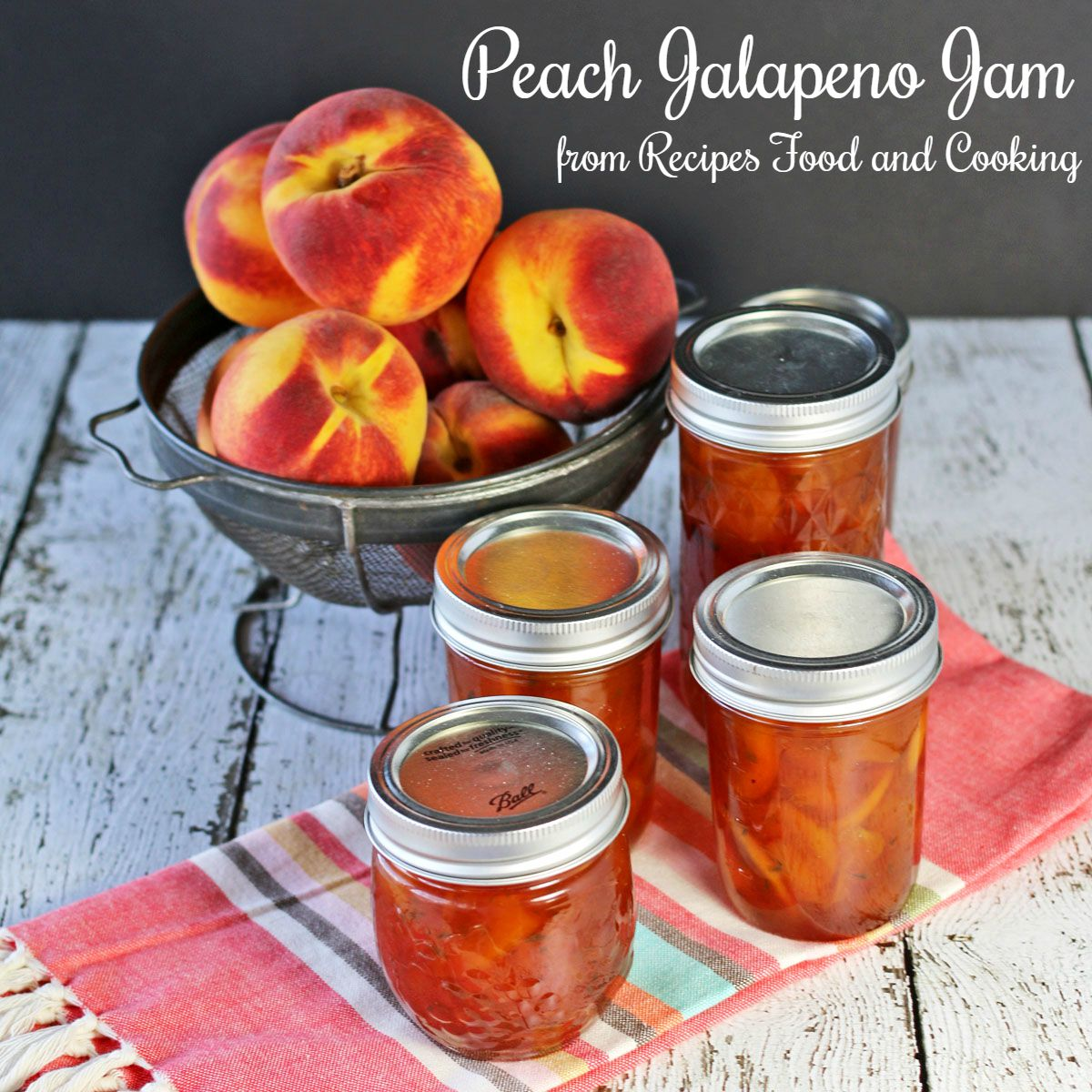 peach jalapeno jam recipes food and cooking