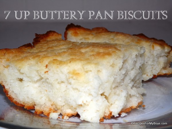 7 UP Buttery Pan Biscuits