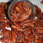 Apple Cider Spiced Pecans