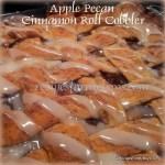 Apple Pecan Cinnamon Roll Cobbler