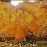 Cara Cara Orange Coffee Cake