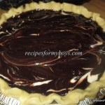 Cheesecake Swirled Brownie Pie