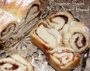 Cinnamon Swirl Pull Apart Bread