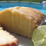 Lime Pound Cake Loaf
