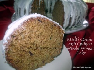 Multi Grain and Quinoa Whole Wheat Cake