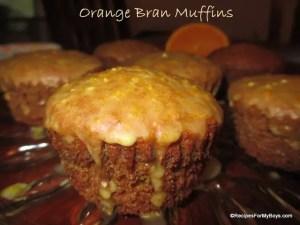 Orange Bran Muffins