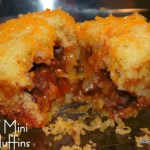 Stuffed Mini Corn Muffins