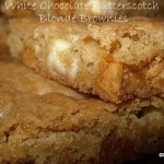 White Chocolate Butterscotch Blonde Brownies