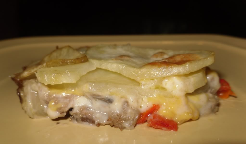 Cheeseburger and Taters Casserole