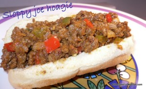 Sloppy Joe Hoagies