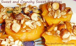 Sweet and Crunchy Sweet Potatoes