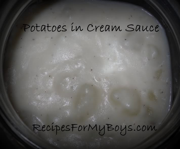 You are currently viewing Potatoes with Cream Sauce