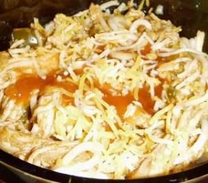 Taco Chicken…Spaghetti and Spaghetti Tacos