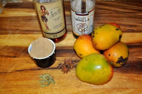 Roasted Mango - Ingredients