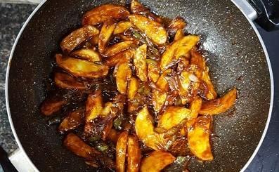 Honey Chilli-Potato