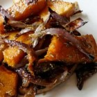 Roast Pumpkin & Red Onion with Rosemary
