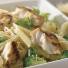 Grilled Tilapia Broccoli Penne