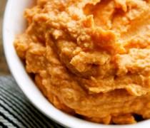 Sun-Dried Tomato Hummus Dip