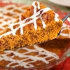 %name   Pumpkin Gingerbread with Caramel Sauce   RecipesNow.com