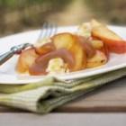 %name   Sparkling Ontario Peach Shiver   RecipesNow.com