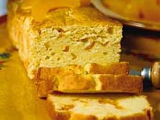 California Cling Peach Pound Cake
