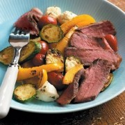 %name   Sonoma Steaks with Vegetables Bocconcini   RecipesNow.com