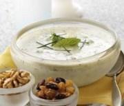 %name   Minted Yogurt Soup with California Raisins   RecipesNow.com