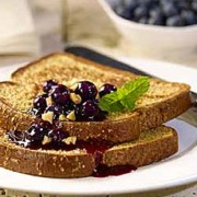 %name   Country Harvest French Toast with Blueberry Sauce   RecipesNow.com