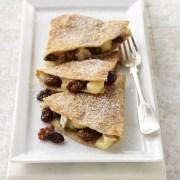 California Raisin and Brie Dessert Quesadillas