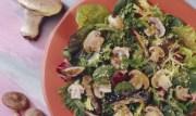 %name   Grilled Oriental Mushroom Salad   RecipesNow.com