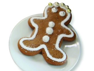 Reduced Sugar Gingerbread Cookies