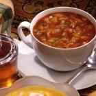 %name   Saffron Yellow Bell Pepper Soup   RecipesNow.com