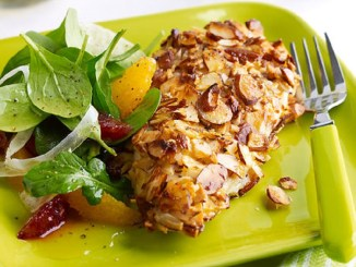 Almond Orange Crusted Chicken