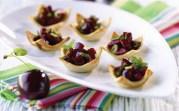 %name   Savoury Cherry Bruschetta   RecipesNow.com