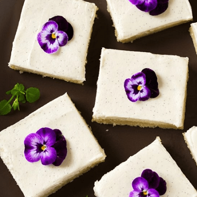 Vanilla Bean Sugar Cookie Bars