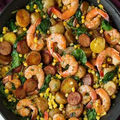 Shrimp Boil Skillet Recipe