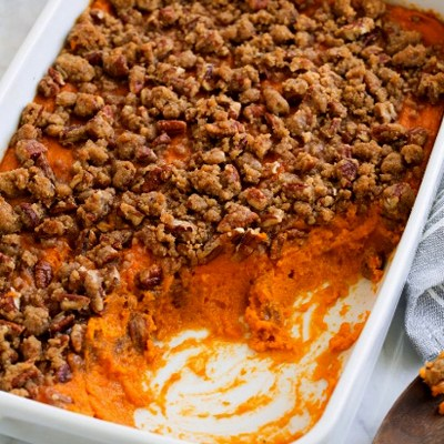 Sweet Potato Casserole Marshmallows