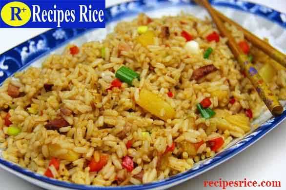 pineapple ham fried rice